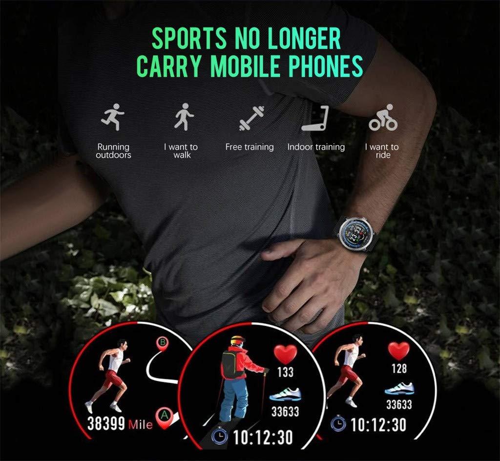 A-Artist-Smartwatch-122-Zoll-Farbbildschirm-Intelligente-Sportuhr-Wasserdicht-Fitness-Tracker-mit-Herzfrequenz-Schlafmonitor-und-Kalorienzhler-mit-Schrittzhler-Pulsuhr-fr-iOS-Android
