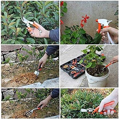 Yuede-Gartengerte-Handwerkzeug-im-Tragekoffer10-teiliger-Garten-Werkzeug-Set-Gartenwerkzeuge-Kombi-Set-fr-Gartenfreund-Profigrtner-tolle-Geschenkset