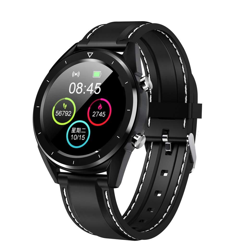 A-Artist-Smartwatch-Smart-Watch-Sport-Uhr-Smart-Uhr-Fitness-Tracker-mit-Schrittzhler-Schlafanalyse-TouchscreenSMS-Facebook-Vibration-Kompatible-Android-Handy-fr-Herren-Damen