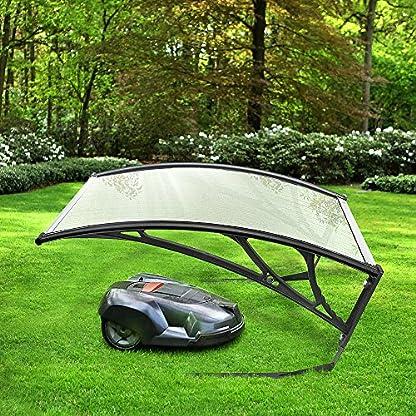 Garage-fr-Rasenmher-Roboter-Carport-fr-Mhroboter-Rasenroboter-Unterstand-102-x-783-x-34-cm-Schutz-vor-Regen-und-Hagel-schtzt-den-Rasenmher