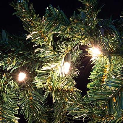 Nipach-GmbH-Weihnachtsgirlande-mit-35er-Mini-Lichterkette-Weihnachtsbeleuchtung-27-m-Xmas