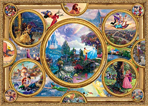 Schmidt-Spiele-Puzzle-59607-Thomas-Kinkade-Disney-Dreams-Collection-2000-Teile-bunt