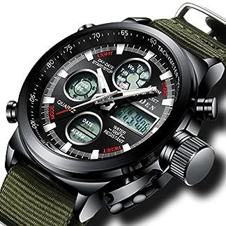 Herren-Groes-Gesicht-Militr-Digital-Sportuhr-Mnner-Wasserdicht-Alarm-LED-Digital-Uhr-mit-Stoppuhr-Mnnlich-Multifunktion-Beilufig-Armbanduhr-mit-Schwarz-Dial