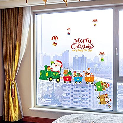 MAYOGO-Weihnachten-Farbe-Wandaufkleber-Spiegel-Fenster-Glas-Applique-Buchstaben-Aufkleber-Merry-Christmas-and-a-Happy-New-Year-45-60cm