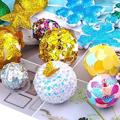 YO-HAPPY-DIY-Luftblasen-Kugel-Polystyrol-Styropor-Schaum-Kugel-Weihnachtsbaum-Dekorations-Partei-Halloween-kreative-Verzierung