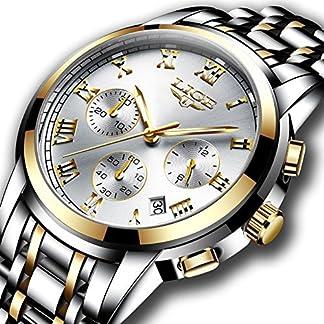 Uhren-Herren-Full-Stahl-Quarz-Analog-Armbanduhr-Herren-Luxus-Marke-Lige-Wasserdicht-Datum-Business-Armbanduhr