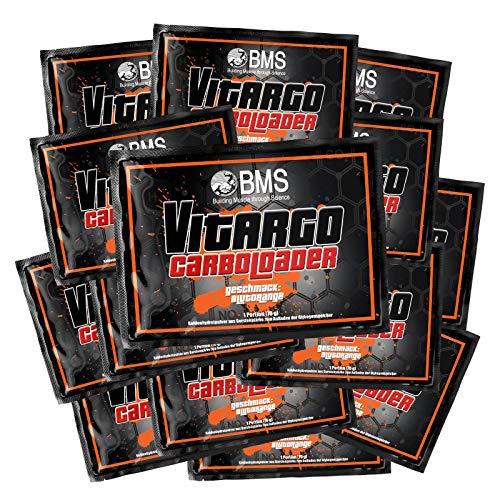 14 x BMS Vitargo Carboloader Portionstüten Blutorange (980 g)