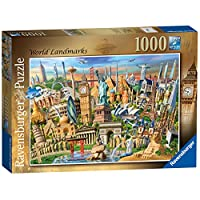 Ravensburger-World-Landmarks-Puzzle-Sehenswrdigkeiten-aus-der-Ganzen-Welt-1000-Teile