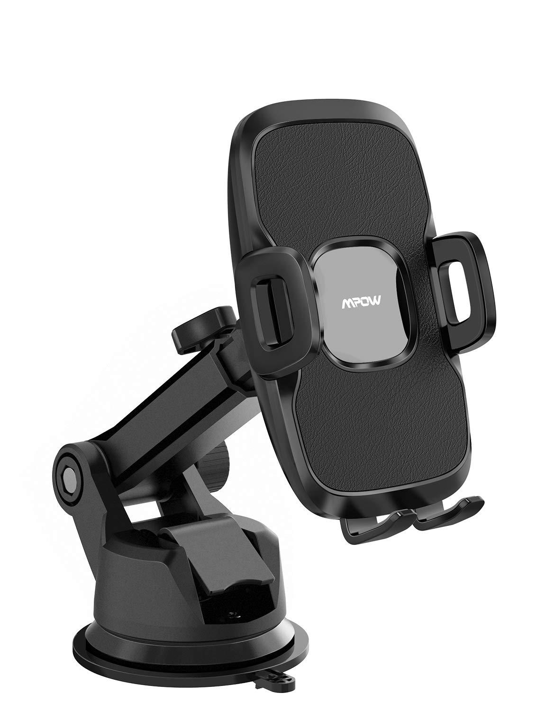 Mpow-Handyhalterung-Auto2-in-1-Universal-autohandyhalterArmaturenbrettWindschutzscheibe-KFZ-Smartphone-Halterung2-Saugstufen-abwaschbare-Gelauflage-handyhalter-frs-Auto-fr-alle-Handys