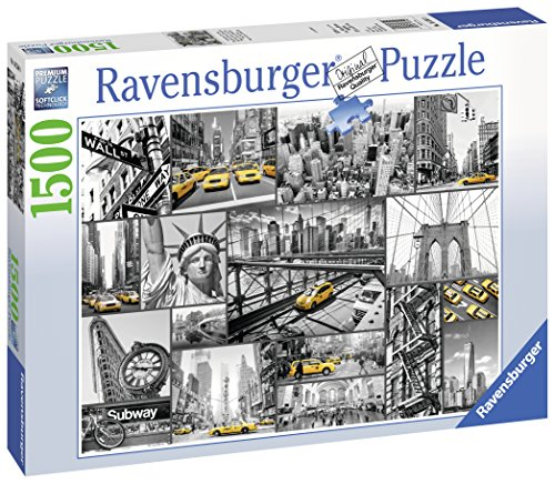 Ravensburger-16354-Farbtupfer-in-New-York-1500-Teile-Puzzle