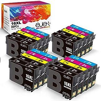 ejet-Ersatz-fr-Epson-16XL-16-XL-Druckerpatronen-Kompatibel-fr-Epson-Workforce-WF-2750DWF-WF-2510WF-WF-2010W-WF-2630WF-WF-2520NF-WF-2530WF-WF-2540WF-Drucker-8Schwarz-4Blau-4Rot-4Gelb