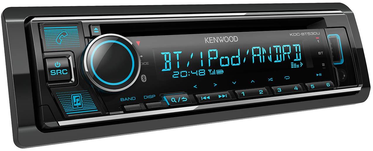 g nstig kenwood kdc bt530u cd autoradio mit bluetooth freisprecheinrichtung soundprozessor usb. Black Bedroom Furniture Sets. Home Design Ideas