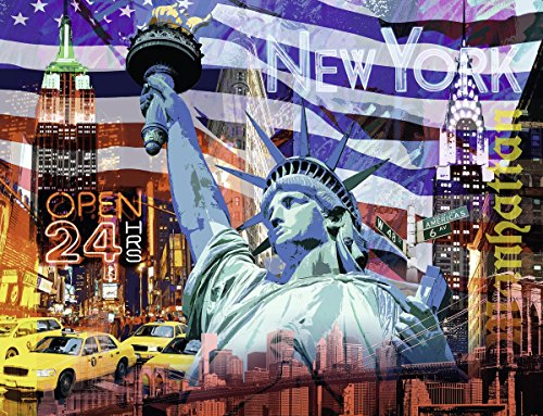 Ravensburger-16687-9-Puzzle-New-York-Collage-2000-Teile