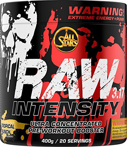 All Stars Raw Intensity 3.17, Tropical Punch, 1er Pack (1 x 400 g)