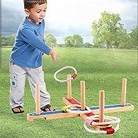 Ringwurfspiel-Spiele-fr-drauen-werfen-den-Ring-Holzspielzeug–Aktiver-indoor-und-outdoor-Spielspa-fr-Kinder-und-Erwachsene
