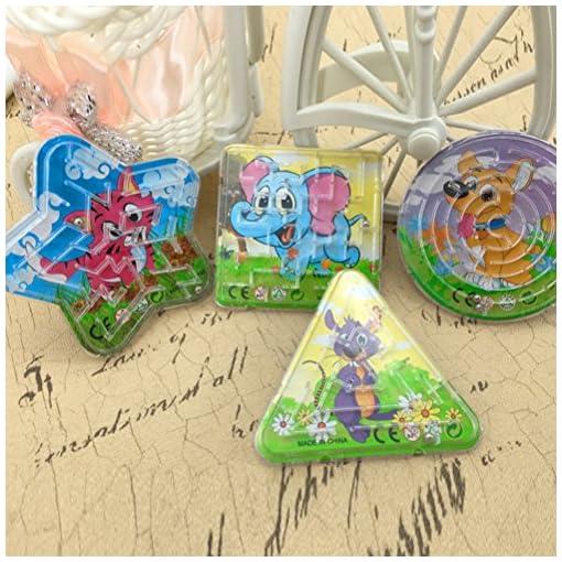 TOYMYTOY-12pcs-Kugel-Labyrinth-Maze-Spielzeug-Kinder-Geduldsspiel-Labyrinth-Zufllig