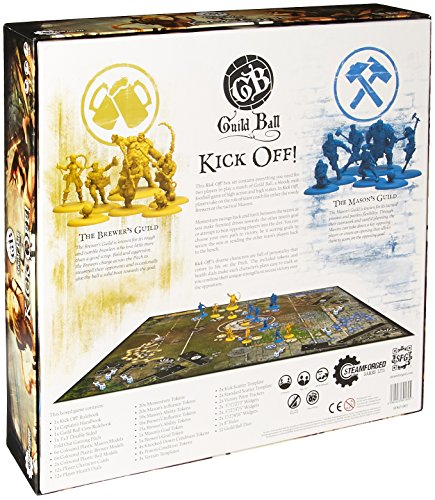 GUILD-Ball-Kick-Off-2-Player-Starter-Set-steamforged-Spiele