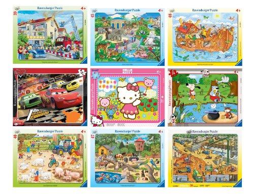 Ravensburger-Puzzles-30-bis-48-Teile-verschiedene-Motive