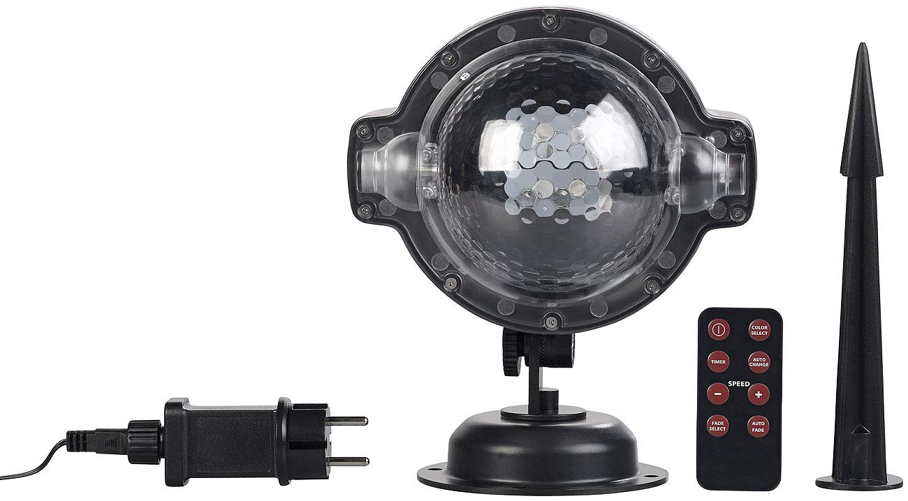 Lunartec-Projektionslampe-LED-Kugellampe-mit-Schneefall-Effekt-und-Timer-wei-RGB-IP44-Laser-Projektoren-Garten