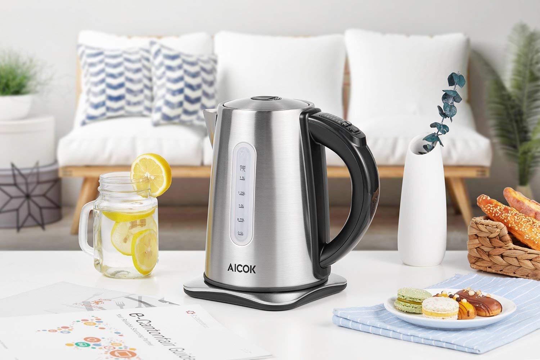 Aicok-Wasserkocher-Edelstahl-mit-6-temperatureinstellung-und-Warmhaltefunktion2-Stunden-2200W-17-Liter-Wasserkocher-mit-LED-Beleuchtung-und-Kalkfilter-Automatischer-Abschaltung-BPA-Frei