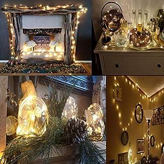 Salcar-USB-LED-Lichterkette-10-Meter-100-Dioden-Innen-Auen-Micro-Kupfer-Draht-fr-Weihnachten-Deko-Party-Festen-Wasserdicht