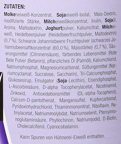 Layenberger Fit+Feelgood Slim Mahlzeitersatz Heidelbeer-Cassis, 3er Pack (3 x 430g)
