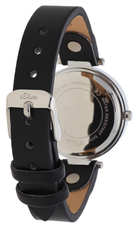 sOliver-Damen-Armbanduhr-Analog-Quarz-Leder-SO-15093-LQR