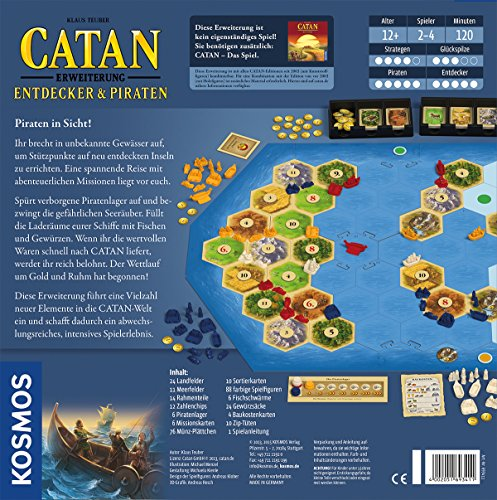 Catan-Entdecker-Piraten-Strategiespiel