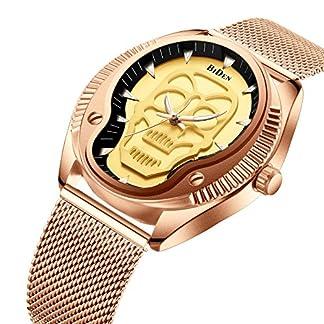 Unisex-Armbanduhr-Damen-Herren-Armbanduhr-Edelstahl-Milanaise-Armband-Mesh-Metall-Band-Analog-Quarz-Damen-Armbanduhr-Herren-Armbanduhr-wasserdicht-ultraflachen-dnn-Klassische-einfache-Elegant-und-Spor