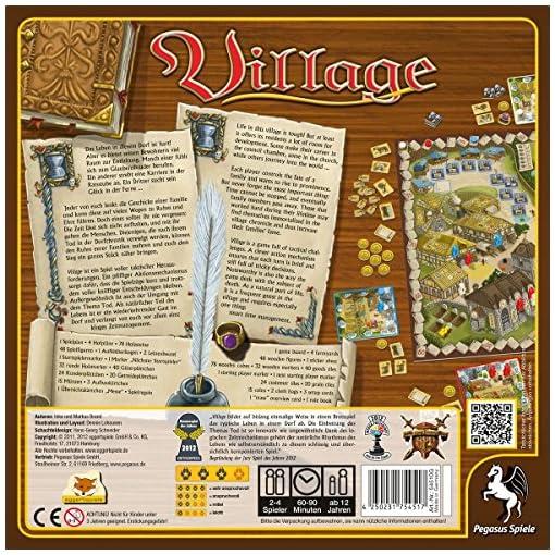 Pegasus-Spiele-54510G-Village-Kennerspiel