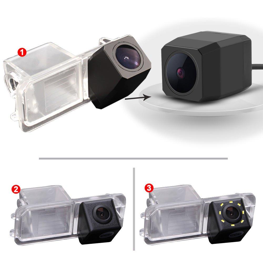 Dynavision-Auto-Rckfahrkamera-Farbkamera-Einparkkamera-Nachtsicht-und-fr-Rckfahrsystem-Einparkhilfe-WasserdichtStofest-fr-VW-Phaeton-Passat-Skoda-Golf-6-EOS-Lupo-Polo-Seat-Leon-Amarok