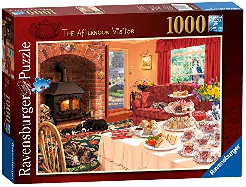 Unbekannt-Ravensburger-The-Afternoon-Visitor-Puzzle-1000-piece