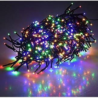 LED-Bschel-Lichterkette-Cluster-IP44-fr-Innen-und-Auen-10m-Zuleitung-MULTICOLOR-8-Effekte
