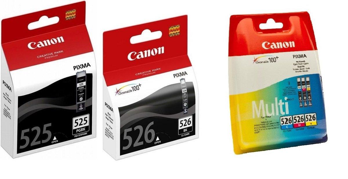 Canon-CLI-526-Set-5-Canon-Originalpatronen-je-1-x-PGI-525BK-CLI-526BK-CLI-526C-CLI-526M-CLI526Y-fr-Canon