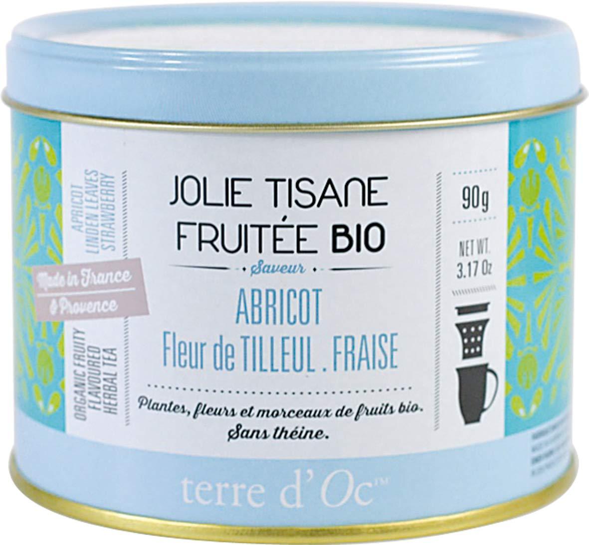 Terre-dOc-Bio-Krutertee-mit-Aprikose-Lindenblte-und-Erdbeere-in-dekorativer-Metalldose-90-g