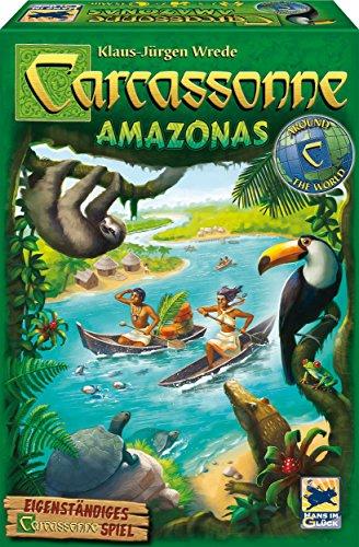 Schmidt-Spiele-Hans-im-Glck-48261-Carcassonne-Amazonas-Spiel-und-Puzzle
