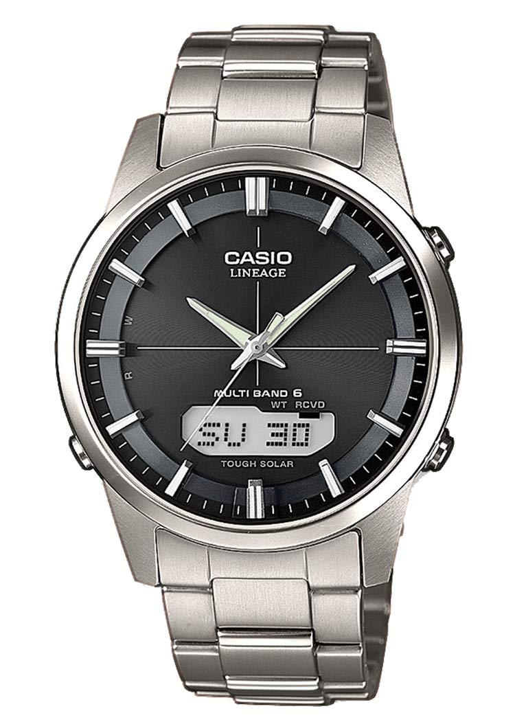 Casio-Wave-Ceptor-Herren-Armbanduhr-AnalogDigital-Quarz-die-Solide-Armband-Titan–lcw-m170td