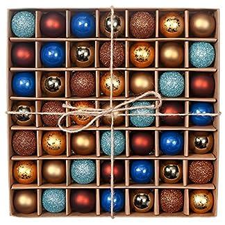 Valery-Madelyn-Weihnachtskugeln-49-Stcke-3CM-Kunststoff-Christbaumkugeln-Weihnachtsdeko-mit-Aufhnger-Glnzend-Glitzernd-Matt-Weihnachtsbaumschmuck-Weihnachten-Dekoration-MEHRWEG-Verpackung