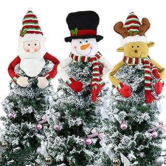 yummyfood-Weihnachtsbaumspitze-Schneemann-Santa-Elch-Christbaumspitzen-Weihnachtlicher-Baumschmuck-Fr-Das-Haus-Klassenzimmer-Geschft-Cafe-Dekoration