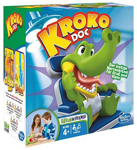 Hasbro-Spiele-B0408100-Kroko-Doc-Kinderspiel