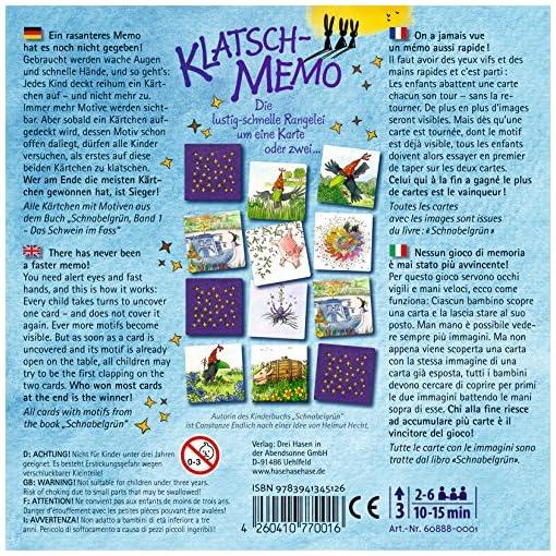 Klatsch-Memo-Reaktionsspiel