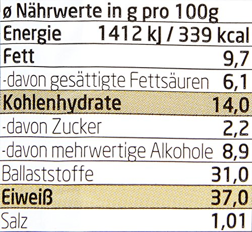 Layenberger LowCarb.one Protein CooKix Latte Macchiato, 10er Pack (10 x 60 g)
