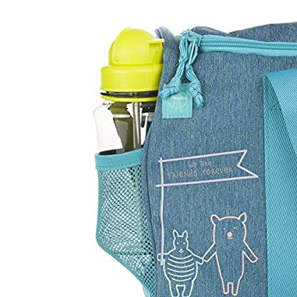 LSSIG-Kulturtasche-Mdchen-zum-Hngen-mit-Namendsschild-Kulturbeutel-Waschbeutel-Waschtasche-Kinder-Mini-Washbag-About-Friends