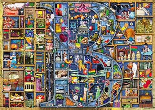 Ravensburger-Puzzle-Colin-Thompson-Awesome-Alphabet-B-mit-1000-Einzelteilen-Englische-Version