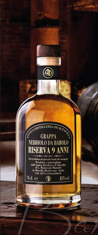 Grappa-Riserva-9-anni-Nebbiolo-da-Barolo-45-70-cl-Brennerei-Altavilla