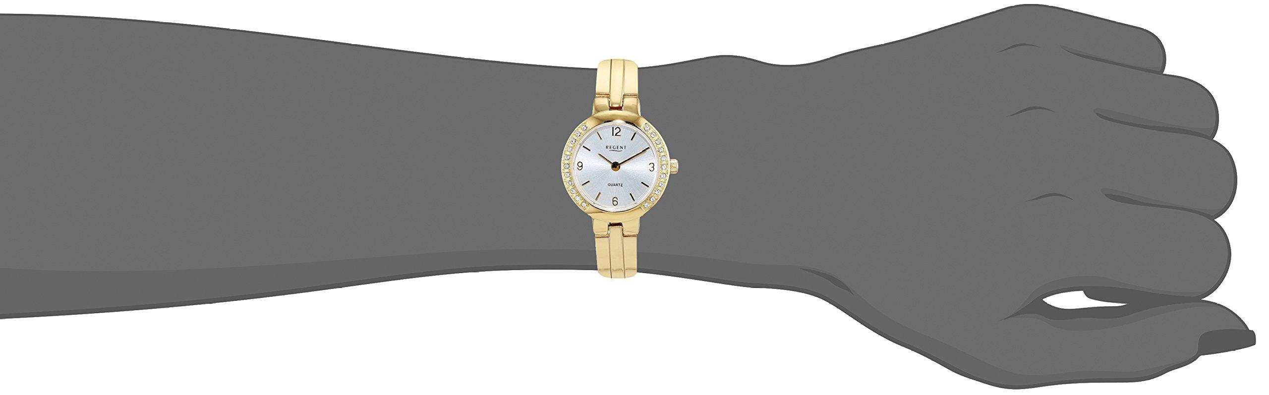 REGENT-Damen-Analog-Quarz-Uhr-mit-Edelstahl-Armband-12210990