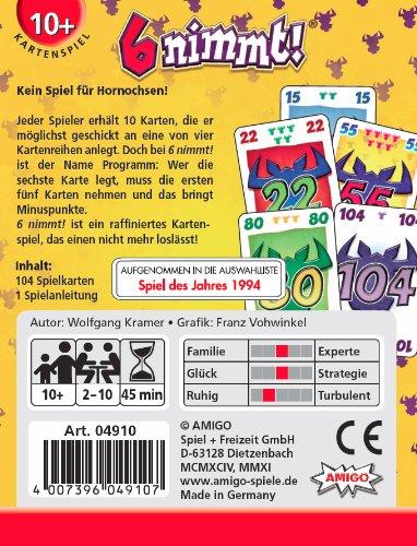 Amigo-4910-6-nimmt-Kartenspiel