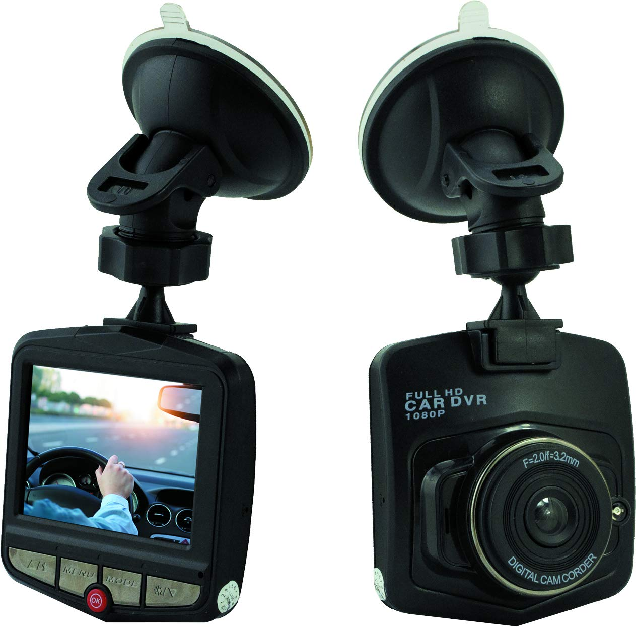 Denver-Dashcam-DV-20901-HD-mit-61-cm-24-Zoll-LCD-Display