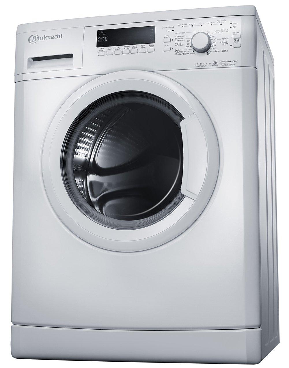 Bauknecht-WA-Plus-624-TDi-Waschmaschine-Frontlader-A-1400-UpM-6-kg-wei-Startzeitvorwahl-Vollwasserschutz-Small-display-unterbaufhig