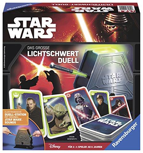 Ravensburger-Spiele-21209-STAR-WARS-das-groe-Lichtschwert-Duell-Aktions-und-Geschicklichkeitsspiel
